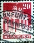 Stamps Germany -  Scott#646 intercambio, 0,20 usd, 20 cents. 1948
