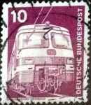 Stamps of the world : Germany :  Scott#1171 intercambio, 0,20 usd, 10 cents. 1975