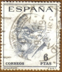 Stamps : Europe : Spain :  LITERATOS - BENAVENTE
