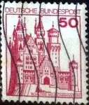 Stamps of the world : Germany :  Scott#1236 intercambio, 0,20 usd, 50 cents. 1977