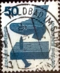 Stamps of the world : Germany :  Scott#1080 intercambio, 0,20 usd, 50 cents. 1973