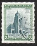Sellos de America - Chile -  150 años primer gobierno nacional