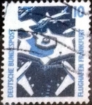 Stamps of the world : Germany :  Scott#1516 intercambio, 0,20 usd, 10 cents. 1988