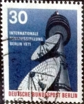 Stamps of the world : Germany :  Scott#9N313 intercambio, 0,55 usd, 30 cents. 1971