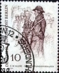 Stamps of the world : Germany :  Scott#9N268 intercambio, 0,20 usd, 10 cents. 1969