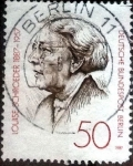 Stamps of the world : Germany :  Scott#9N538 intercambio, 0,90 usd, 50 cents. 1987