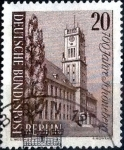 Stamps of the world : Germany :  Scott#9N210 intercambio, 0,25 usd, 20 cents. 1964