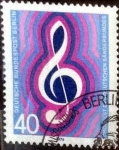 Stamps Germany -  Scott#9N386 intercambio, 0,45 usd, 40 cents. 1976