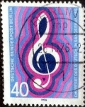 Stamps of the world : Germany :  Scott#9N386 intercambio, 0,45 usd, 40 cents. 1976