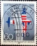 sellos de Europa - Alemania -  Scott#9N575 intercambio, 1,00 usd, 60 cents. 1989