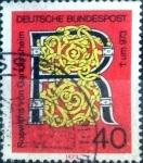 sellos de Europa - Alemania -  Scott#1117 ma4xs intercambio, 0,20 usd, 40 cents. 1973