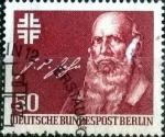 sellos de Europa - Alemania -  Scott#9N418 intercambio, 0,55 usd, 50 cents. 1978