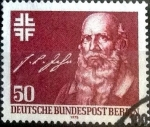Stamps of the world : Germany :  Scott#9N418 intercambio, 0,55 usd, 50 cents. 1978
