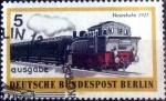 Sellos del Mundo : Europa : Alemania :  Scott#9N305 nf4b intercambio, 0,20 usd, 5 cents. 1971