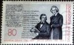 sellos de Europa - Alemania -  Scott#1434 ma4xs intercambio, 0,30 usd, 80 cents. 1985