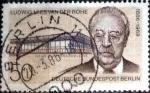sellos de Europa - Alemania -  Scott#9N508 intercambio, 1,10 usd, 50 cents. 1986