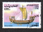 Stamps : Asia : Afghanistan :  Barcos Veleros