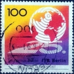 Stamps Germany -  Scott#1625 intercambio, 0,40 usd, 100 cents. 1991