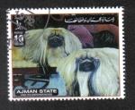 Stamps United Arab Emirates -  Perros, Ajman