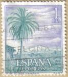 Stamps : Europe : Spain :  Paisajes y Monumentos - EL TEIDE en CANARIAS