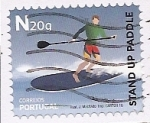 Stamps : Europe : Portugal :  Paddlesurf - Stand up Paddle