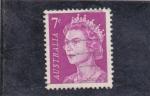 Sellos de Oceania - Australia -  reina Elisabeth