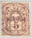 Stamps of the world : Switzerland :  Cruz roja