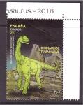Sellos de Europa - España -  serie- Dinosaurios