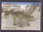 Stamps Spain -  serie- dinosaurios