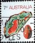 sellos de Oceania - Australia -  Scott#559 intercambio, 0,20 usd, 7 cents. 1973