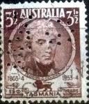 Sellos de Oceania - Australia -  Scott#263 intercambio, 0,20 usd, 3,5 pens. 1953