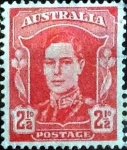 Sellos de Oceania - Australia -  Scott#194 intercambio, 0,25 usd, 2,5 pens. 1942