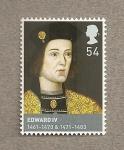 Sellos de Europa - Reino Unido -  Eduardo IV