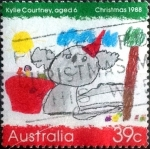Stamps : Oceania : Australia :  Scott#1103 ja intercambio, 0,50 usd, 39 cents. 1988