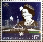 Stamps : Oceania : Australia :  Scott#1083 ja intercambio, 0,45 usd, 37 cents. 1988