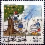 sellos de Oceania - Australia -  Scott#1067 intercambio, 0,90 usd, 53 cents. 1988