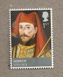 Sellos de Europa - Reino Unido -  Enrique IV