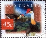 sellos de Oceania - Australia -  Scott#1539C intercambio, 0,50 usd, 45 cents. 1999