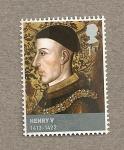 Stamps United Kingdom -  Enrique V