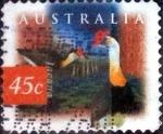 sellos de Oceania - Australia -  Scott#1536 intercambio, 0,50 usd, 45 cents. 1997