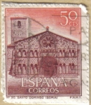 Stamps : Europe : Spain :  Paisajes y Monumentos - STO. DOMINGO en SORIA