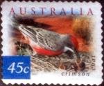 Stamps Australia -  Scott#1994 mxb intercambio, 0,65 usd, 45 cents. 2001