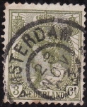 Stamps Netherlands -  REINA  GUILLERMINA DE LOS PAISES BAJOS