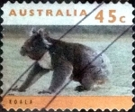Stamps of the world : Australia :  Scott#1294D intercambio, 0,50 usd, 45 cents. 1995