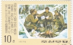 Stamps North Korea -  SOLDADOS