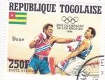 Stamps : Africa : Togo :  OLIMPIADA DE LOS ANGELES´84