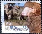 sellos de Oceania - Australia -  Scott#3719 intercambio, 0,25 usd, 60 cents. 2012