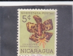 Stamps Nicaragua -  FLORES- CYNOCHES