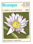 Sellos del Mundo : America : Nicaragua : FLORES ACUATICAS-