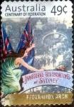 Sellos de Oceania - Australia -  Scott#1931 intercambio, 0,25 usd, 49 cents. 2001